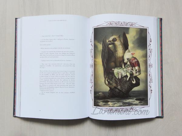 Veau campbell de Alice au pays des merveilles de Benjamin Lacombe