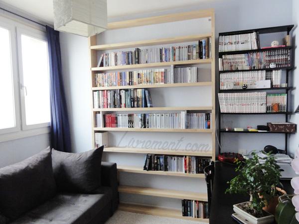 Bibliothèque des romans en 2012