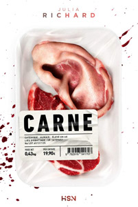 Couverture du roman Carne de Julia Richard
