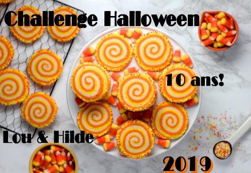 Logo de la dixième édition du challenge Halloween