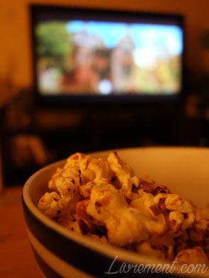 Pop corn et film d'épouvante