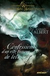 """Couverture du livre """"Confessions d'un elfe mangeur de lotus"""" de Raphaël Albert publié aux éditions Mnémos"""