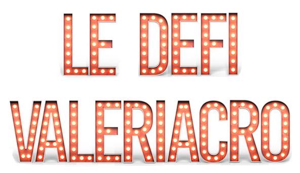 Défi Valériacr0 écrit en lettres retro à ampoules