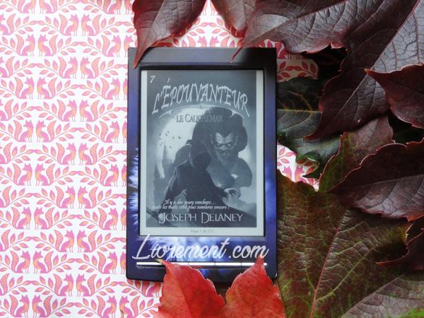 Le cauchemar de l'épouvanteur de Joseph Delaney, sélection de septembre pour le défi littéraire Valériacr0