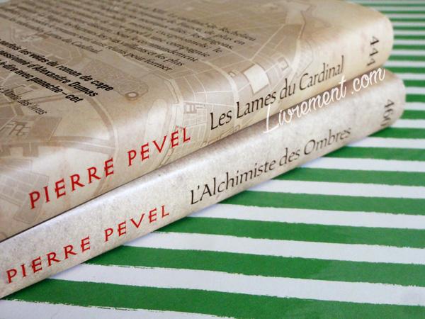 """""""Les lames du cardinal"""" de Pierre Pevel, trilogie lue pour le défi Valériacr0 d'avril 2018"""