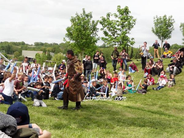 Festival Echos et Merveilles - préparation du camp des enfants