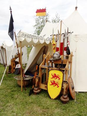 Festival Echos et Merveilles - Armes médiévales