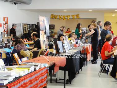 Photographie de la buvette du salon L'imagina'livres à Toulouse en 2018