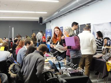 Vue d'ensemble du salon L'imagina'livres à Toulouse en 2018