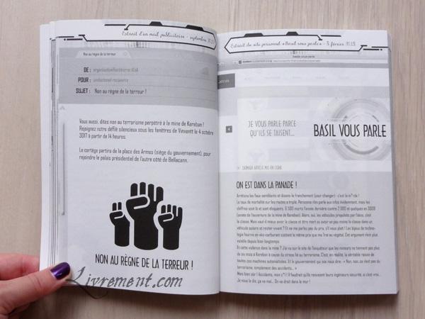 Livre Kereban : extrait d'un mail publicitaire