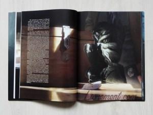 Photographie du livre L'appel de Cthulhu de Lovecraft, illustré par Baranger : illustration de la statuette de Cthulhu