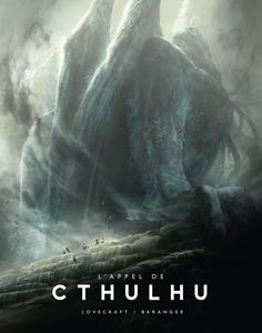 Couverture du livre illustré par François Baranger : L'appel de Cthulhu de Lovecraft