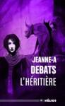 """Couverture de la collection Hélios pour le roman """"L'héritière"""" de Jeanne-A Debats"""