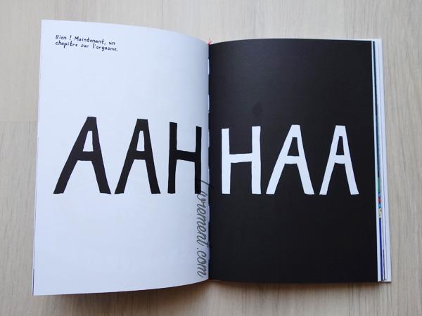 Livre L'origine du monde de Liv Strömquist : page sur l'orgasme