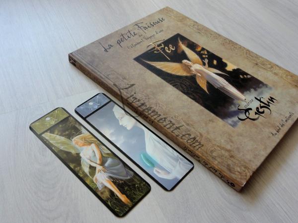 Livre La petite faiseuse de Sandrine Gestin et marque-pages