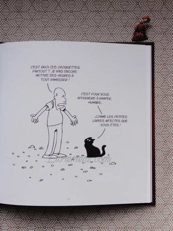 Putain de chat de Lapuss : extrait apprendre à ramper