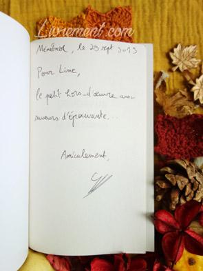 Salon littéraire Ménétrol : Les Aventuriales - Dédicace du Dévoreur par Stefan Platteau