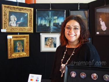 Salon littéraire Ménétrol : Les Aventuriales - Illustratrice Aurélie Martin