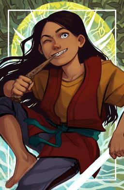 Fan art de Lift par Tara Spruit, Lift est un personnage de Brandon Sanderson