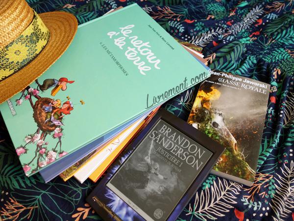 Livres lus en août 2019 du blog Livrement
