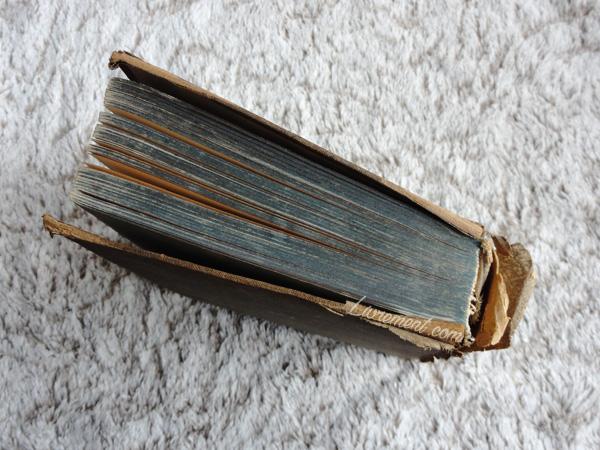 Photographie d'un vieux livre pour représenter 9 ans de blogging du blog Livrement