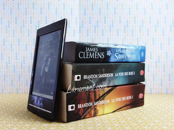 Livres papier et livres numériques que j'aimerais lire en été 2018