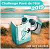 Logo du challenge littéraire pavé de l'été 2019