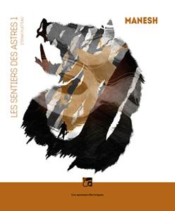 Couverture de Melchior Ascaride du livre Manesh de Stefan Platteau, édition souple aux éditions Les moutons électriques