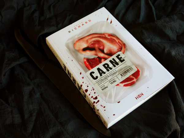 Mise en scène du roman Carne de Julia Richard