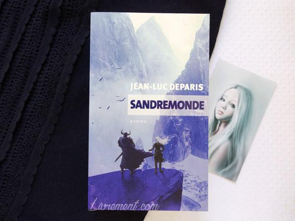 Mise en scène du roman Sandremonde de Jean-Luc Deparis par le blog Livrement.com