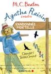 Couverture du roman Randonnée mortelle de M.C. Beaton, tome 4 d'Agatha Raisin