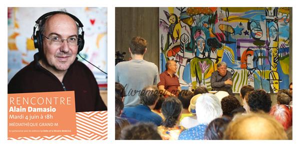 Rencontre avec Alain Damasio à Toulouse le 4 juin 2019