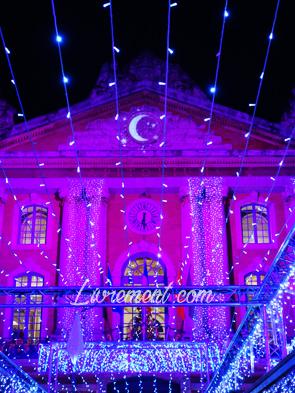 Illuminations du marché de Noël de Toulouse en 2018