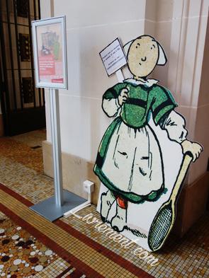 Bécassine pour l'exposition 400 ans de livres d'enfance et de jeunesse à Toulouse