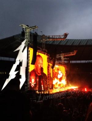 Concert de Metallica à Berlin