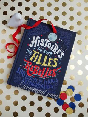 Livre Histoires du soir pour filles rebelles