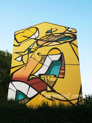 Graffiti de Reso à Toulouse