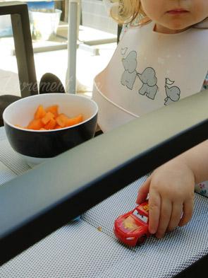 Melon et voiture