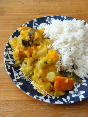 Légumes d'automne, ragoût potiron