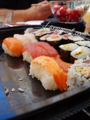 Makis et sushis pour fêter un évenement