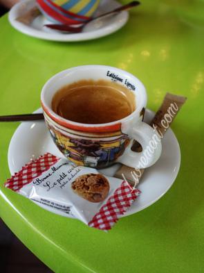 Café pris à Tarbes