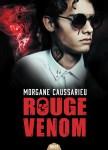 Couverture du roman rouge venom de Morgane Caussarieu