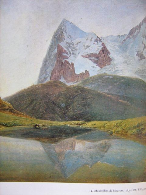 montagne peinture