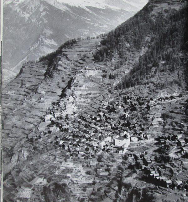 Image aérienne de la Suisse