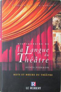 langue du théâtre