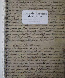 Livre recettes de cuisine
