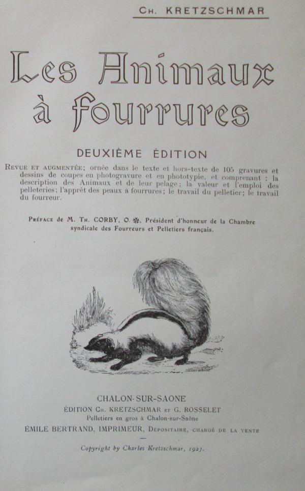 Animaux à fourrures
