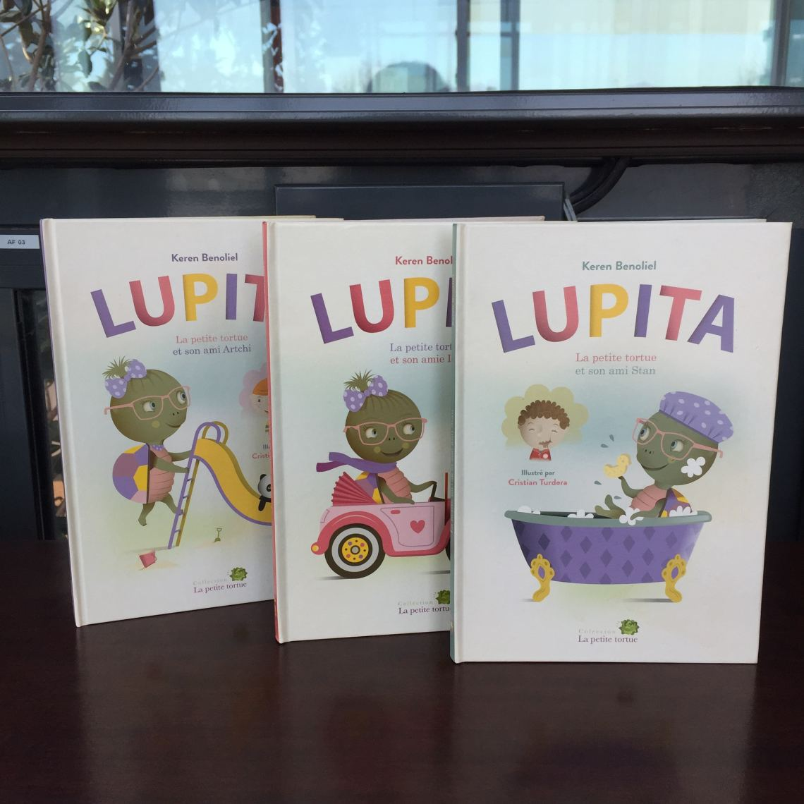 Lupita la petite tortue - livre pour enfants