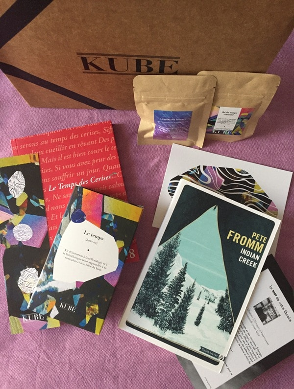 KUBE la box littéraire
