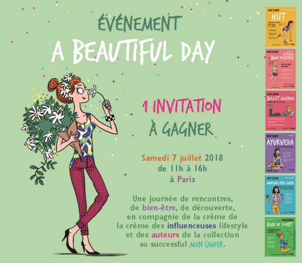 A beautiful day - 1 invitation